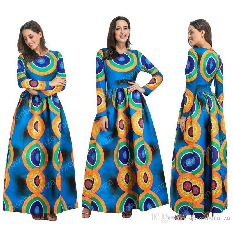 c695a7e1aed 2018 Dashiki African Dresses For Women Top Bazin African Traditional  Private Custom Clothes One Piece Half Sleeve Loose Dress White Dresses For  Sale Lace ...