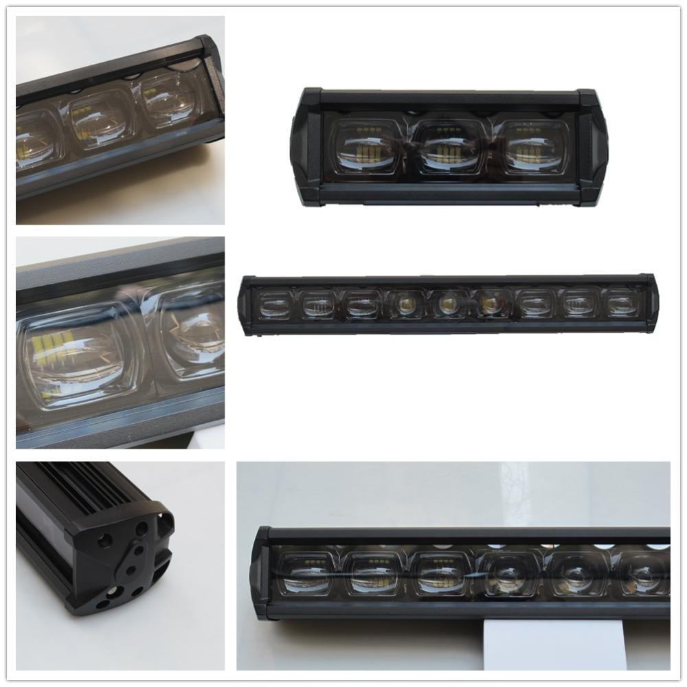 store ultimo stile prezzo moderato Accessori auto 6D Led Light Bar singola fila 4x4 fuoristrada ATV 12V 24V  rimorchio moto impermeabile Led lavoro luci della barra
