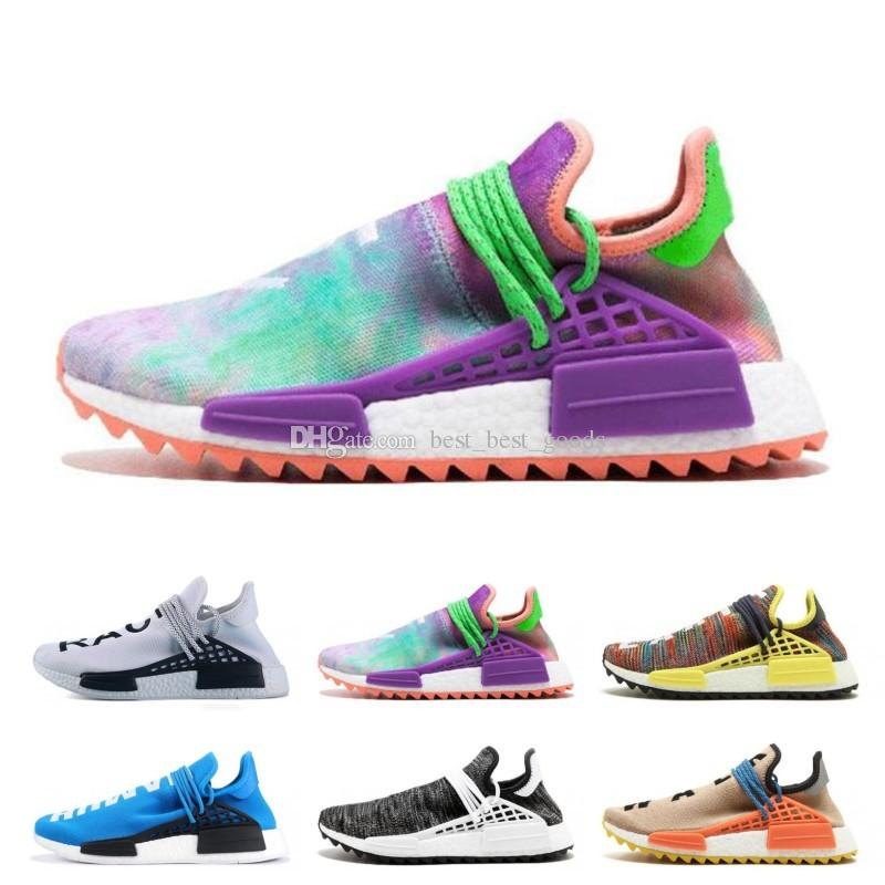 6c117e762a06e 2019 Wholesale High Quality 2019 NMD Human RACE Pharrell Williams Hu Trail  NERD Men Womens RunnING ShOes NMD XR1 Sports ShOes Size 36 45 From ...