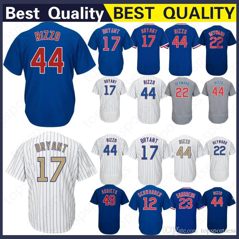 049570c79 2019 Wholesale Chicago 12 Kyle Schwarber Jersey 22 Jason Heyward 44 17 49  23 Baseball Jerseys Stitched From Mitasneakere2019, $40.61 | DHgate.Com