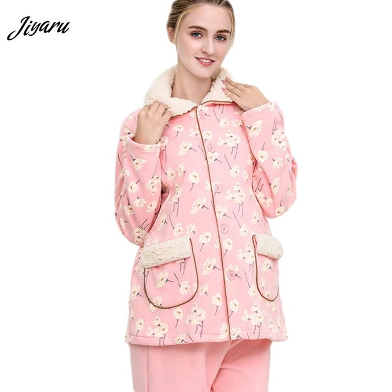 f8f4778981e00 2019 Maternity Winter Nursing Pajamas Sleep Lounge Clothings Pregnant  Clothes Pregnant Pyjama Breastfeeding Gravidity Nightgrown From Sunmye, ...