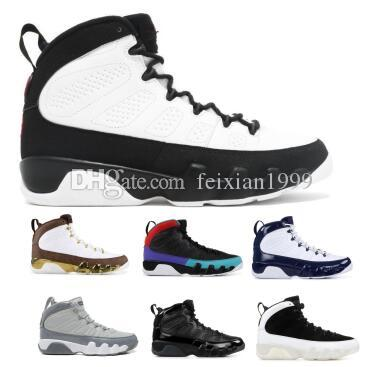 10361561d04333 Space Jams 9 9s Basketball Shoes Sneakers 2019 Grey Bred Dream It UNC City  Of Flight Mens Man Women Melo Zapatos Baskets Shoes Shoes Men Basketball  Games ...