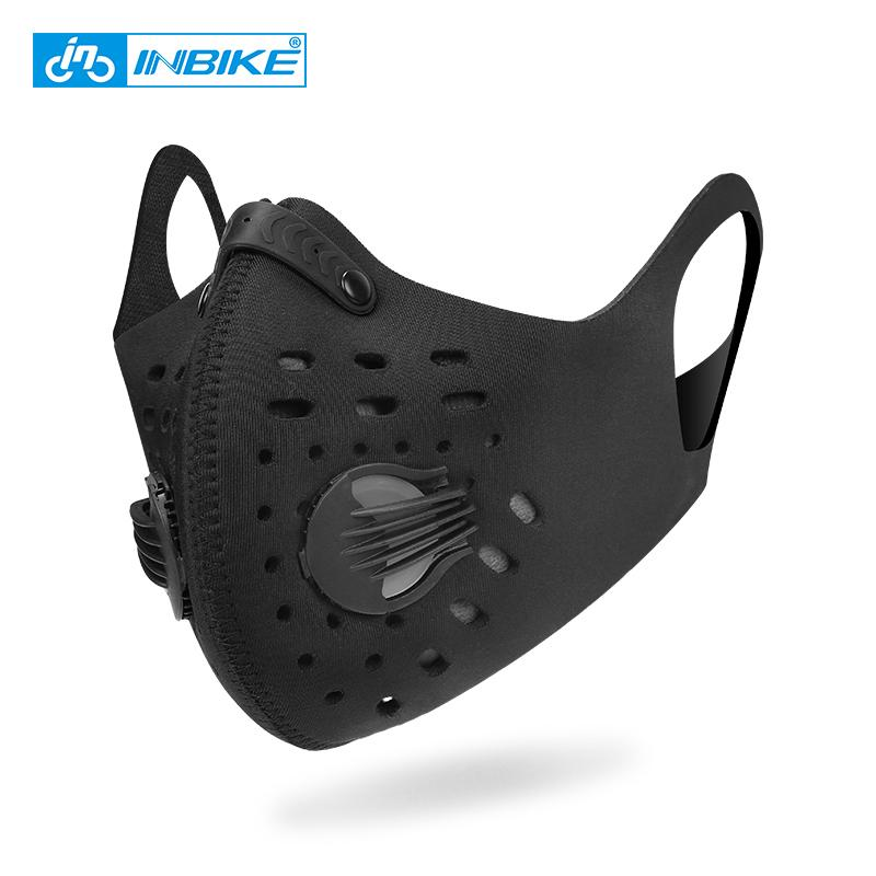 716be0d48 Compre INBIKE PM2.5 Respirador Máscara Para A Execução De Treinamento De  Fitness Esportes Mascara Bicicleta Mouth Muffle Máscaras De Bicicleta Rosto  Capa De ...