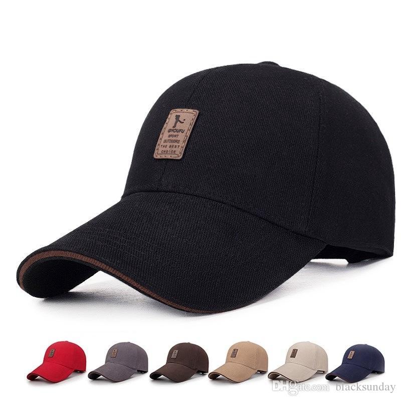 dcc6ae8dba054 Compre Moda Para Hombre Gorras De Pelota Deportes Al Aire Libre Sombreros  Para El Sol Gorras De Pelota De Otoño Y Verano Moda Sombreros De Alta  Calidad ...