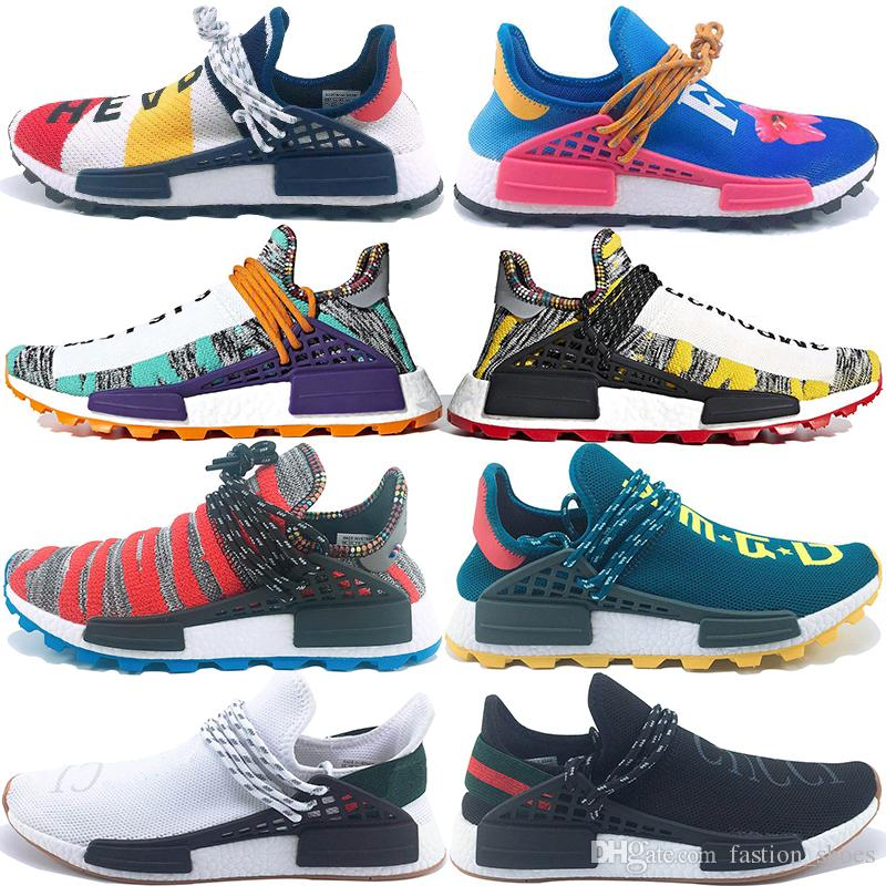 1a184d968 2019 PW Human Race Hu Trail X Men Running Shoes Pharrell Williams ...