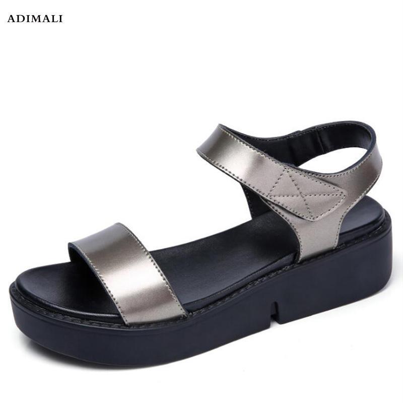 Madre Flop Antideslizantes De Piel Feminina Sandalias Beach Verano Sandalia Mujer Planas Casual 2019 Suave Toe Flip Zapatos Peep Jc3KTlF1