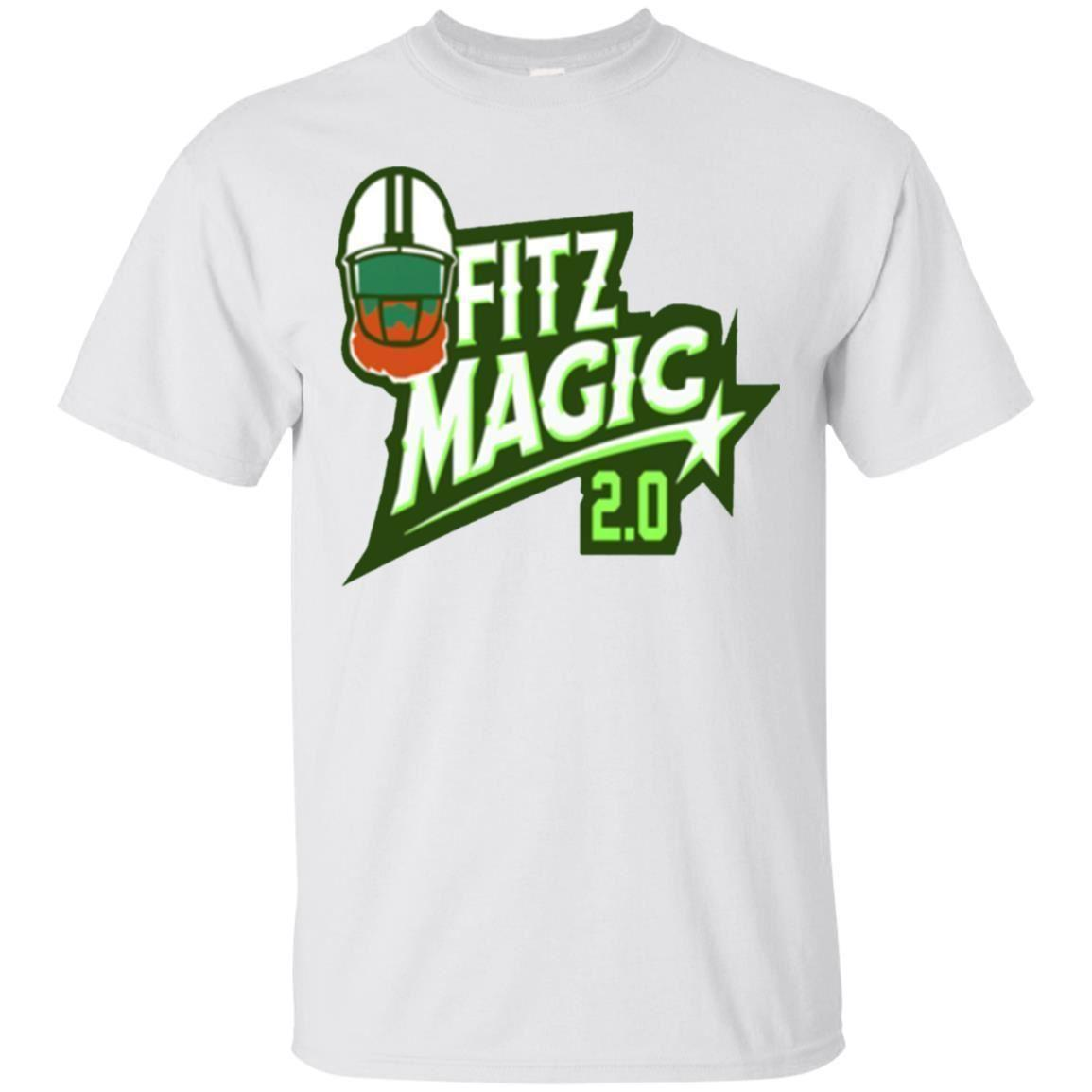 the latest bdbb2 e1bb4 Ryan Fitzpatrick FItzMagic T-shirt Fitzmagic Buccaneers Tee Short Sleeve  S-5XL 2018 Summer short sleeves summer Hot Sale Men S Lastest