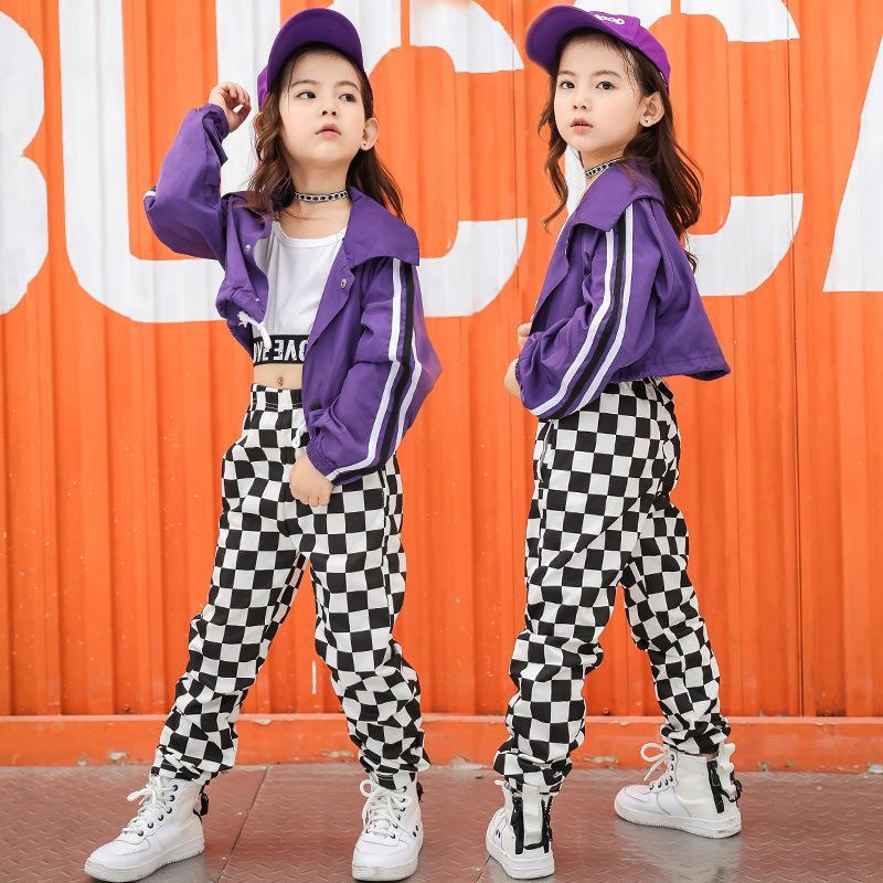 Compre Disfraces De Hip Hop Para Niños Moda Jazz Salón De Baile Ropa Para  Niñas Rendimiento Ropa De Baile Traje De Escenario Trajes De Exhibición A   48.0 ... d2493bf87f5