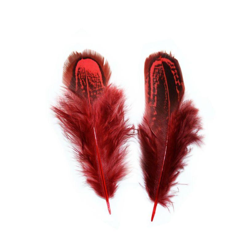 Decorazioni 6-10cm piuma del fagiano di accessori fai da te uccello colorato tinta piuma tessuto mano piuma Fan Partito Materiale sacco T3I5834 /