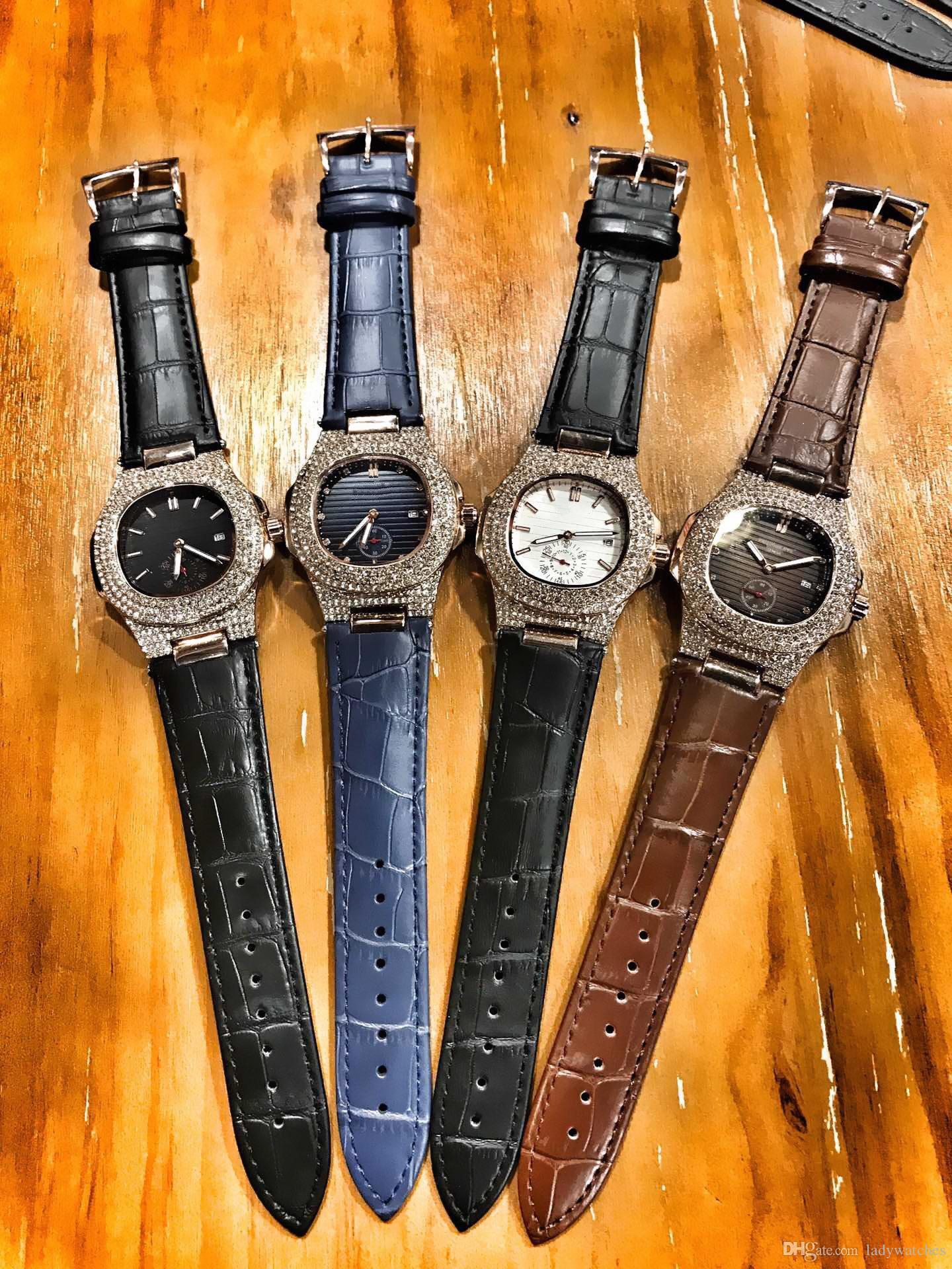 911c2f68d2f7 Compre Mujeres Hombres Relojes Clásico Relojes Antiguos Buena Correa De  Cuero De Acero Inoxidable De Cuarzo Mov Hombre Relojes Con Caja De Regalo A   101.53 ...