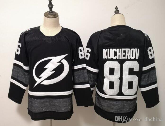 2019 All Star Jerseys Lightning  86 Kucherov  91 Stamkos Jersey New ... 3045694cd