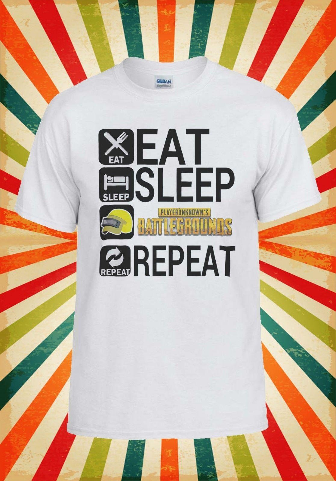 8300248208 Eat Sleep PUBG Repeat Battle Game Men Women Vest Tank Top Unisex T Shirt  2097 Custom T Shirt Logo Text Photo Mens Womens T Shirt Clever Funny T  Shirts Funny ...