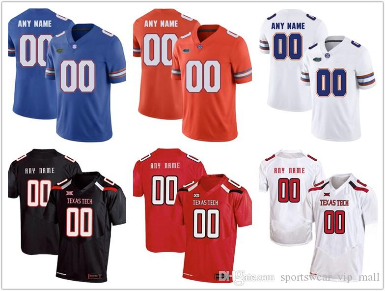 86a910327 2019 Men Florida Gators Jersey Texas Tech Custom Stitched Personalized Red  White Grey Black Customized College Football Jerseys From  Sportswear vip mall