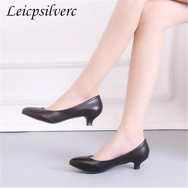 Designer Dress Shoes Spring and autumn season fashion New pattern cheap High-heeled Heel high 3cm 5cm 7cm 34-41