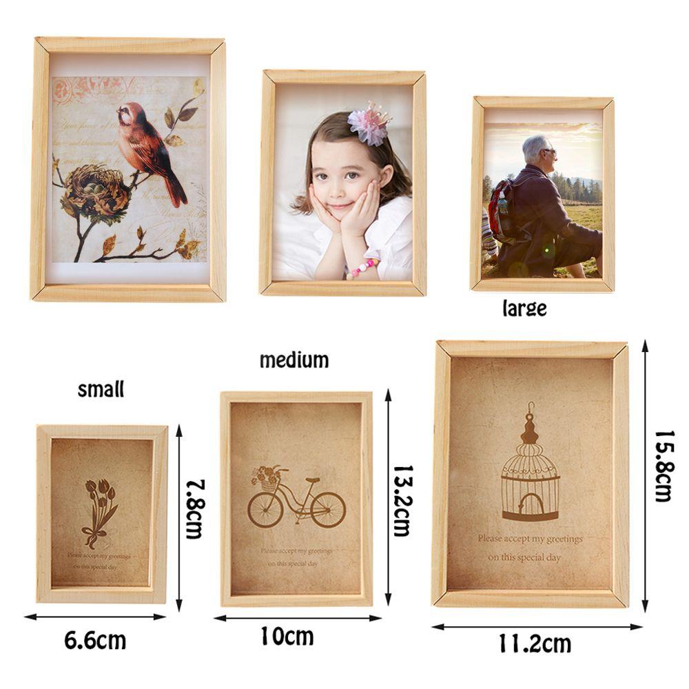 Family Vintage Multi Photo Frame Online Home Decor Art Wooden Wedding Mini  Pictures Frames Vintage DIY Family Frame