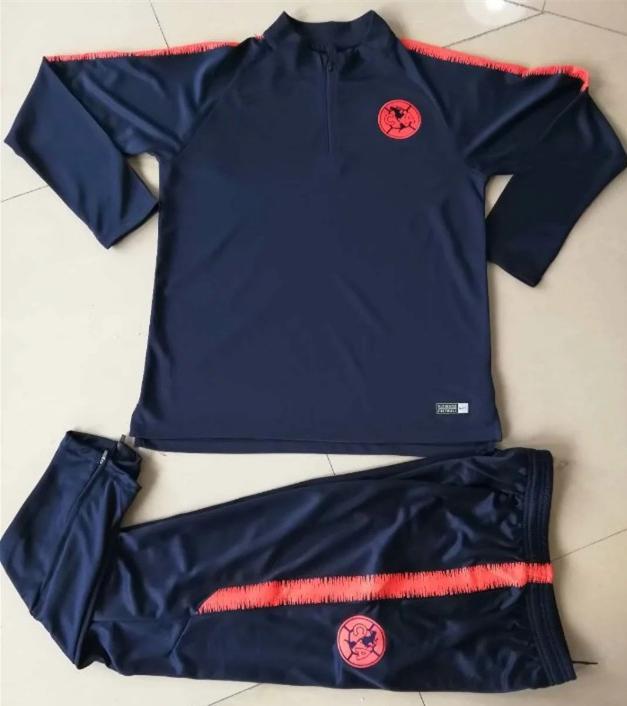 the best attitude 672f3 9936b 18 19 Club America Soccer Tracksuits Cougar Camiseta de Futbol CFA AMÉ CF  America Peralta Survetement Training Suits