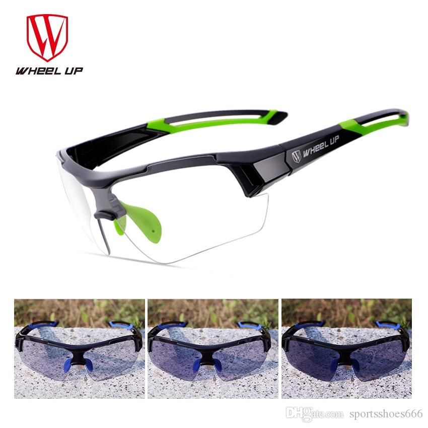 3d687affb97 2017 New Photochromic Discoloration Bicycle Glasses for MTB Road ...