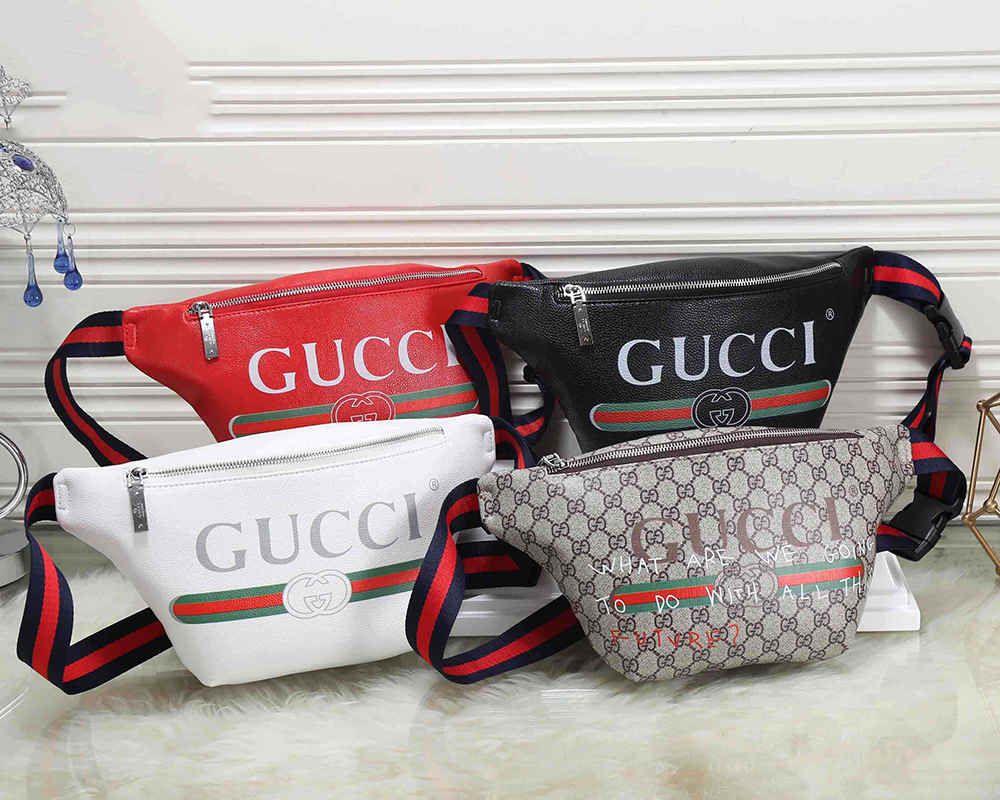 ac21519fee435f Mens Designer Waist Bag Unisex Luxury Handbags with Tiger Printed ...