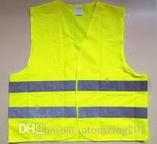 4f22af231f4 Compre Chaleco Amarillo Alta Visibilidad Trabajo Seguridad Construcción  Chaleco Advertencia Tráfico Reflectante Trabajando Verde Ropa Reflectante De  ...