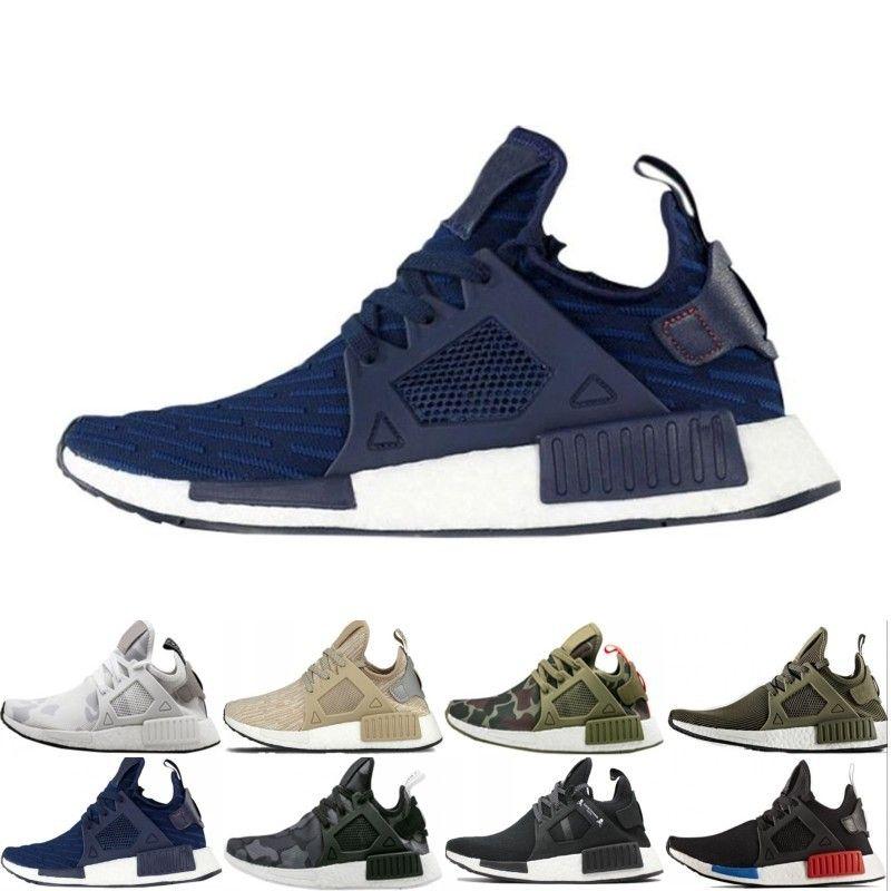 super popular d01f9 408fc New NMD XR1 Primekint Blue White Captain America Women Mens Running Shoes  Sports Designer Sneaker Olive Green PK Size 36-45