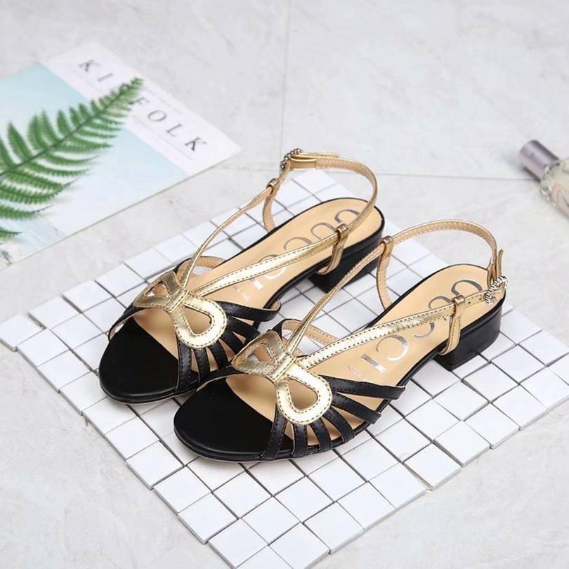 Cuero Zapatos De Nuevo Hueco S Textura Importado Sandalias Verano Superficie Tendencia Casual Planas 2019 Factorywomen 9W2IDHYE