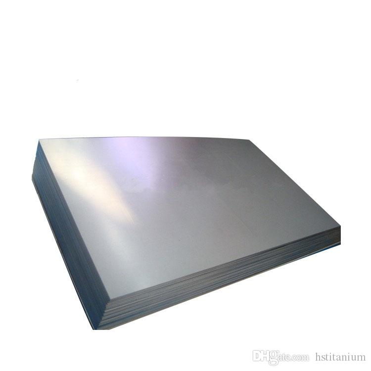 high quality titanium plate for electrolysis China best price wholesale  0 1mm grade 2 titanium foil sheet/plate