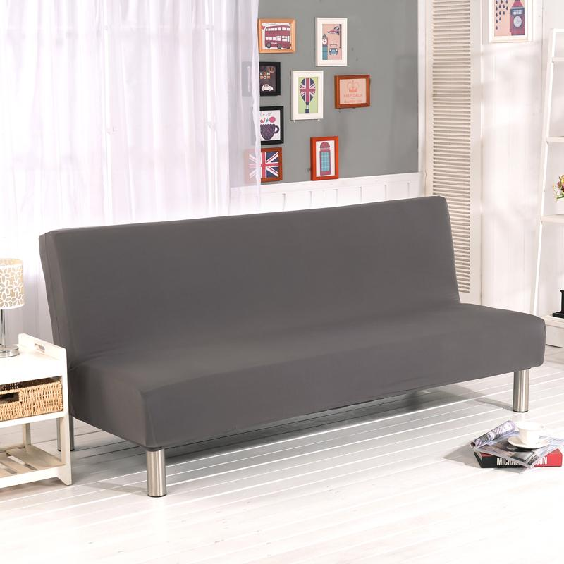 Universal Armless Sofa Bed Cover Folding seat slipcover Modern stretch  covers cheap Couch Protector Elastic Futon Cover Spandex
