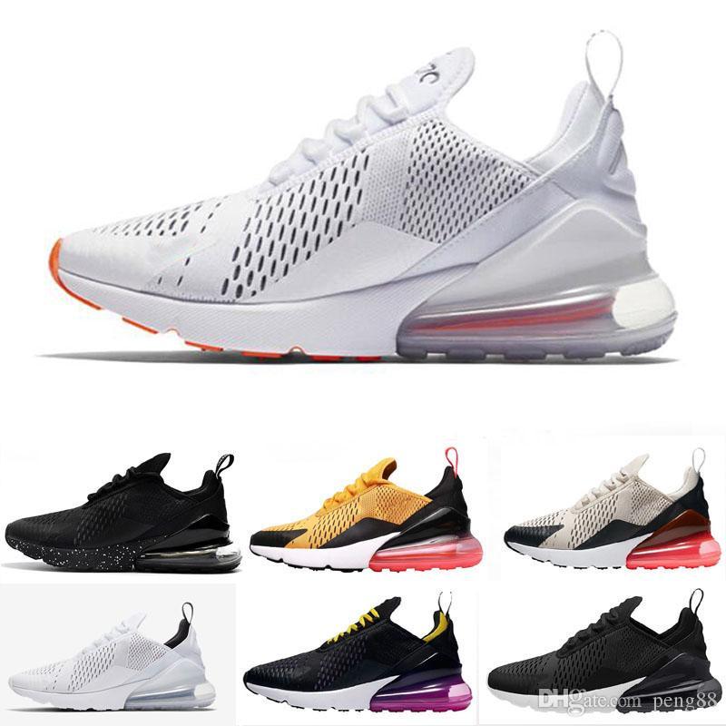 ff99964c1c9 Compre Nike Air Max 270 Entrenadores 720 Zapatos Cojín TN Zapatos Para  Correr Triples Hombres Mujeres Negro Blanco Presto Sport Shock Walking  Senderismo ...