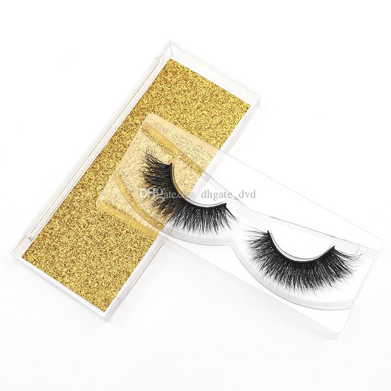 100% real Mink Fur False Eyelashes Wholesale Private Label Free Sample Customize Packaging Real 3D Mink Eyelashes 500set