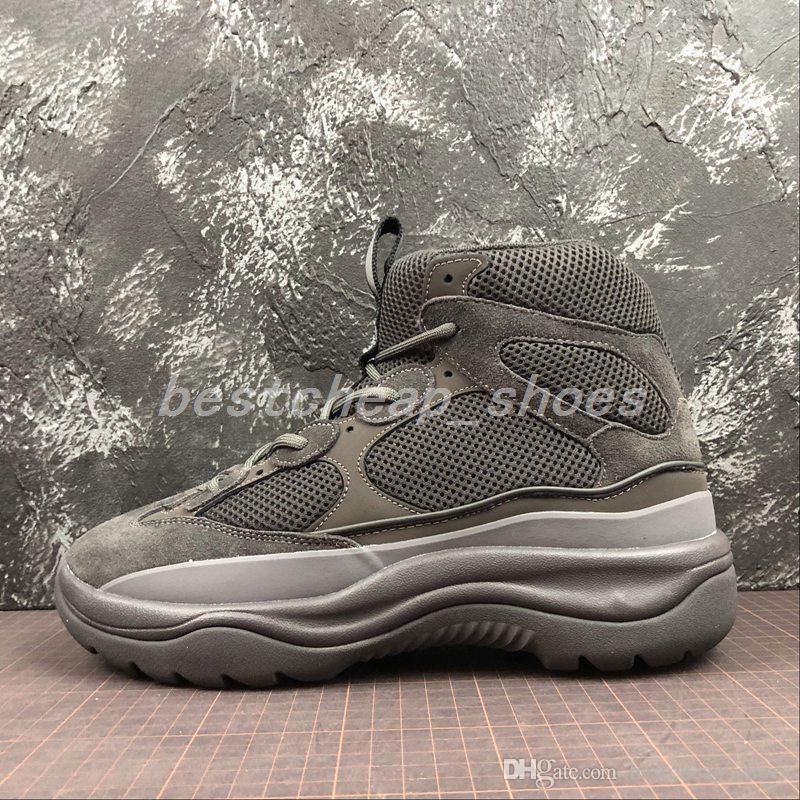 04898427e Yeezy Season 6 6s Nueva Temporada 6 Desert Rat Boot 6s Graphite Negro Estilo  Militar Chunky Men Seankers Zapatos Para Correr Zapatillas De Deporte ...