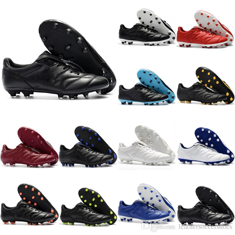 2018 New Arrival Mens Soccer Cleats Tiempo Legend Premier 2.0 FG Low Ankle  Soccer Shoes Retro Tiempo Football Boots Black Cheap UK 2019 From ... 2dc9e6f8a391