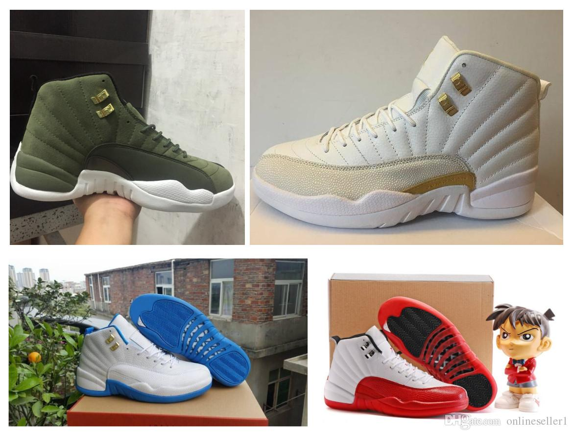41bdf83f3b6088 OVO Class of 2003 12s Basketball Shoes 2019 Designer Fashion Mens ...