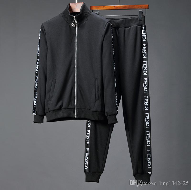 ca2985408e 018 Brand new Fashion designer Men medusa hoodies Sets jacket & Pants  sweatshirt tracksuit sweat suits mens coats jackets Casual sweatshirts