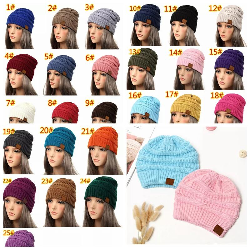 057339aa02f2b 2019 Beanie Women Cap Hat Skully Trendy Warm Chunky Soft Stretch Cable Knit  Slouchy Beanie Winter Hats Ski Cap MMA1163 From Liangjingjing no3