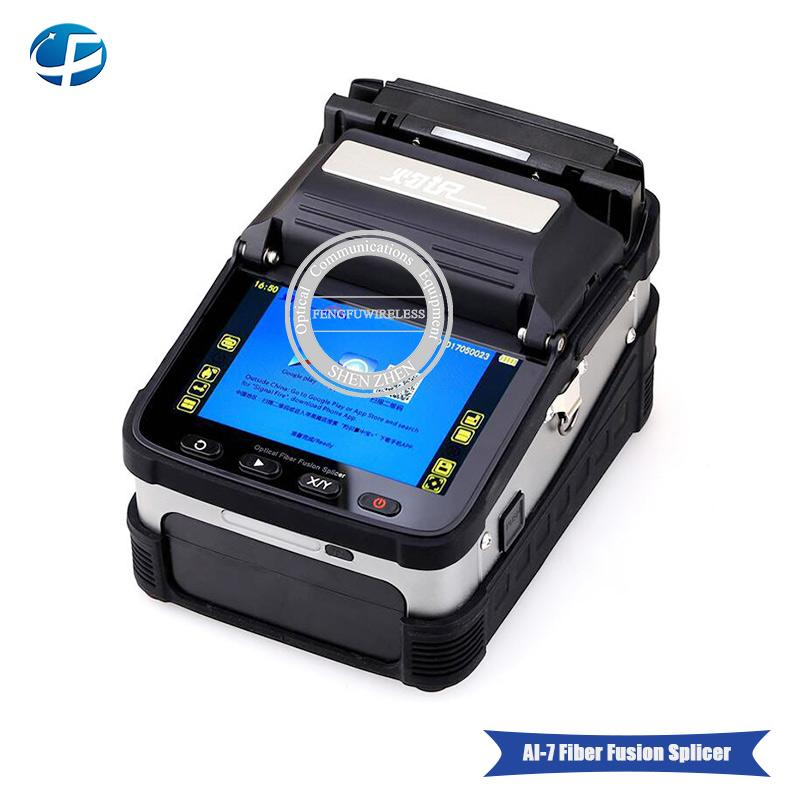 Hottest best selling signalfire AI-7 Fusion Splicer SM&MM Automatic FTTH Fiber Optic Welding Splicing Machine, Free shipping