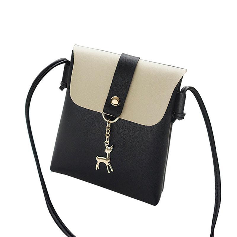 edbbf3083c01 Cheap Fashion 2019 Women Messenger Bags Fashion Women S Vintage Small Bag  With Deer Pendant Leather Shoulder Bag Bolsa Feminina Gift C Handbags On  Sale ...
