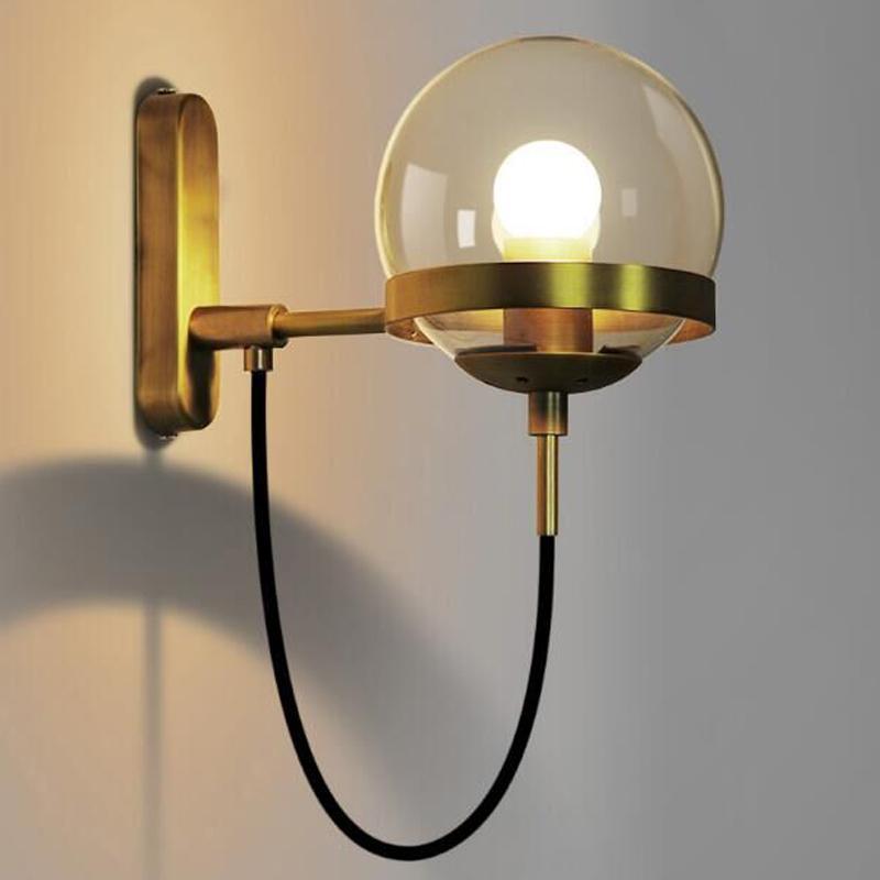 Café Intérieur Led Lumière Lampe Murales Simple Salon Lampes Moderne Éclairage Applique De Couloir Appliques Chambre Bar Cuisine OPn0Xk8w