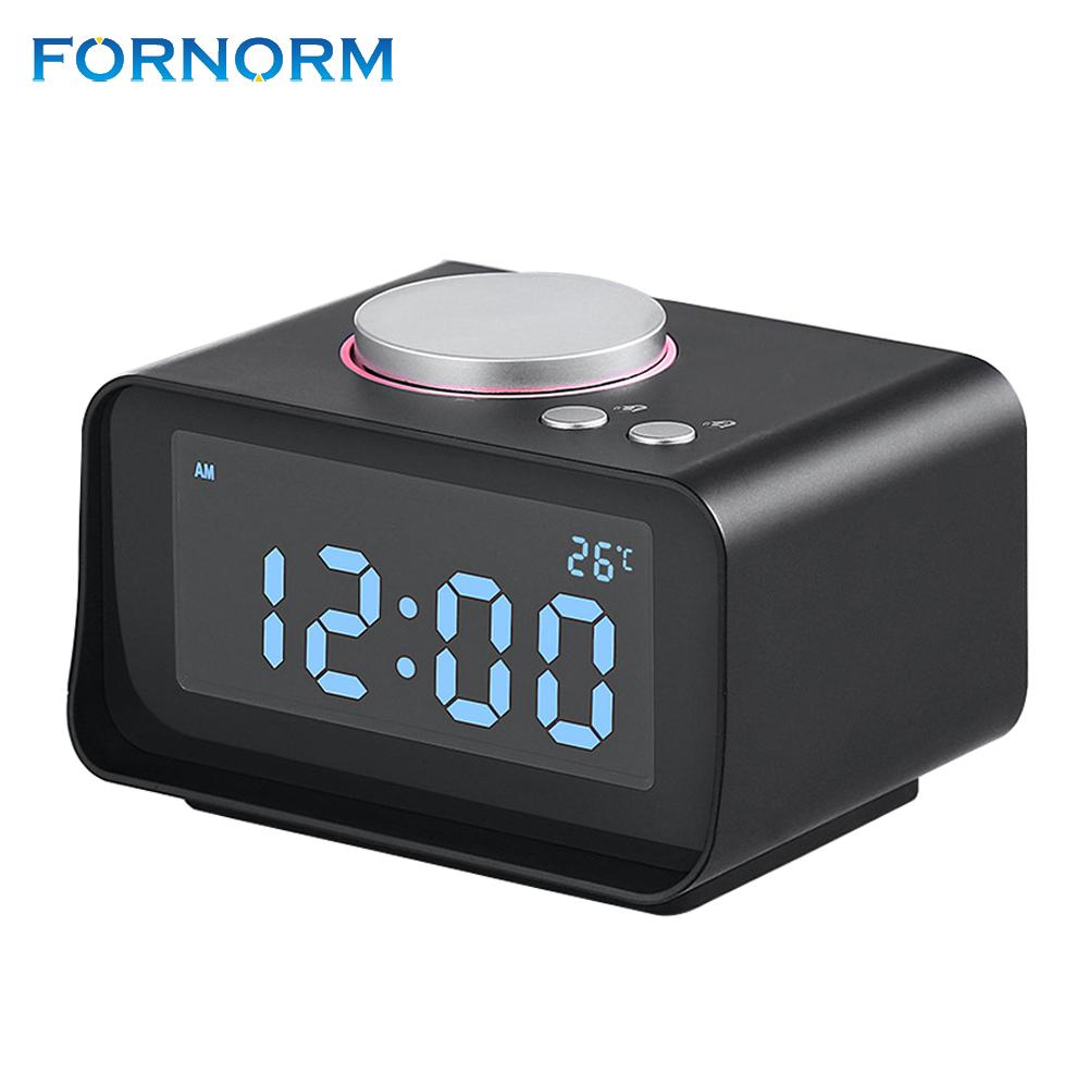Smart Alarm Clock >> Fornorm Multi Function Fm Radio With Smart Alarm Clock Dual Alarm