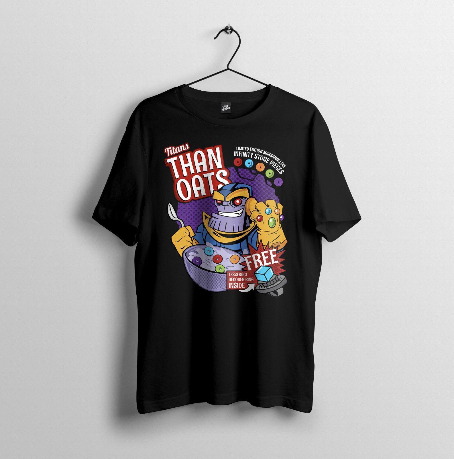 f0f27dcc7 Than Oats Avengers Infinity War, Marvel, Parody Mens Unisex T Shirt S 2XL  Shirt Design Tees From Jie037, $14.67| DHgate.Com