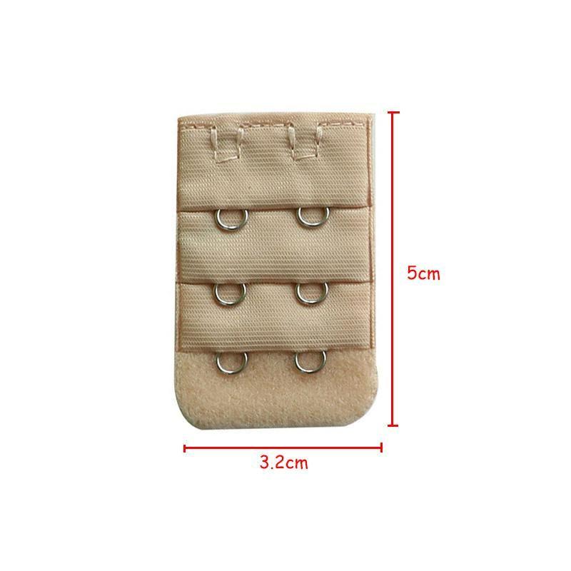 cba83c1b4e8df 5Pcs Back Bra Extender Clip Strap Extension 2 Hook Bra Extensions Strapless  Women s Underwear Expander Hook Botton Intimates