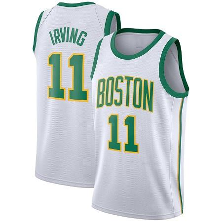 pretty nice 17955 8e5b2 Kyrie 11 Irving Celtics 0 Tatum City Edition Jersey Kawhi 2 Leonard Raptors  Vince 15 Carter Knicks 6 Porzingis Basketball Jerseys