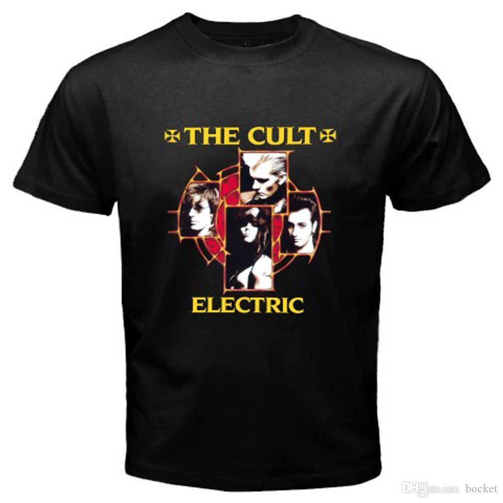 Novità Colt Rock Band Legend Electric Album T-shirt nera da uomo taglia S-3XL