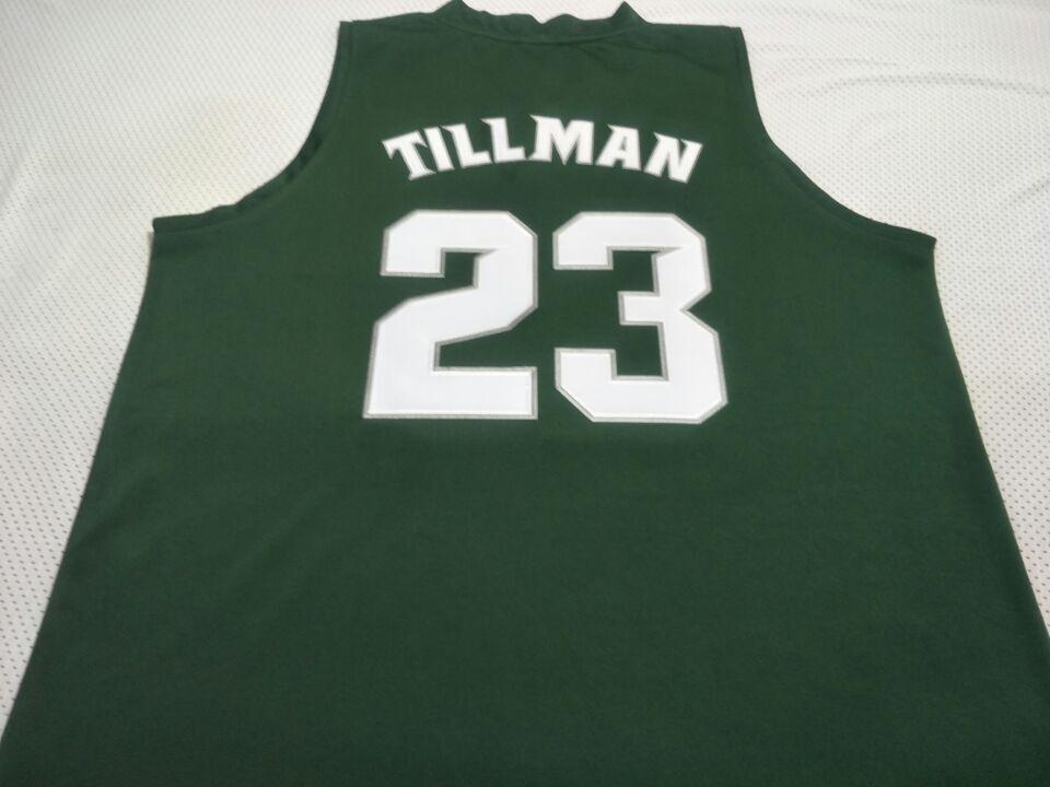 Men Michigan State Spartans Xavier Tillman #23 College Real embroidery jersey Size S-4XL or custom any name or number jersey
