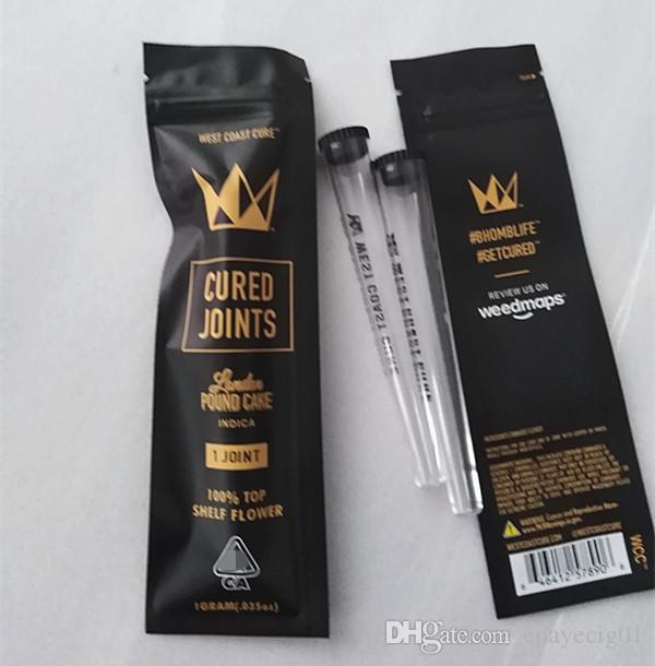 West Coast Cure Joints 1 Joint Pre Roll Tube With Zipper