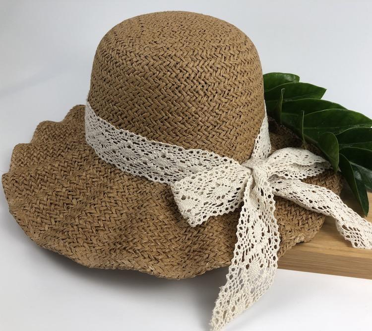 Compre Damas Moda Casual Sombrero De Paja Primavera Y Otoño 2019 Lado Del  Cordón Sombreros De Sol Cúpula Cómoda Patrón De Dibujos Animados Sombrero  De ... f0cafc48f18