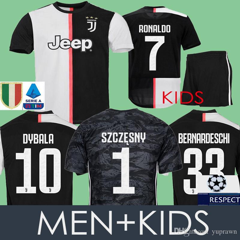 16ad9999b1a 2019 2020 Juventus RONALDO Soccer Jersey Football Shirt Uniforms ...