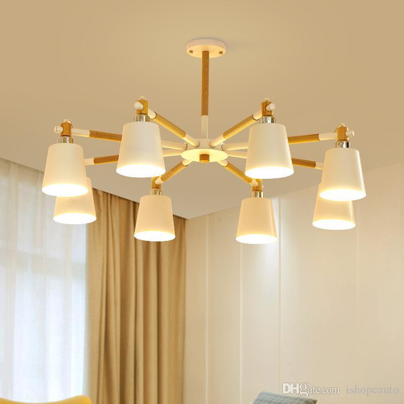 Lámpara Compre Estar Moderna De Nordic Araña Sala Led Cocina CxorWdBe