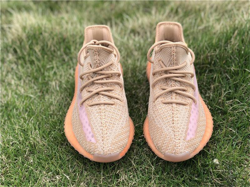 bab7f9320726a 2019 Authentic 350 V2 Clay EG7490 Kanye West Man Women Running Shoes True  Form EG749 Hyperspace EG7491 Static EF2905 Sneakers Size 5 12 Navy Shoes  Blue ...