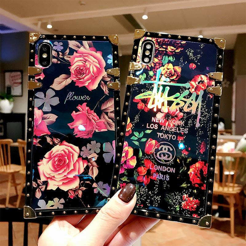 timeless design b1dea eb817 Wholesale For Samsung Famous Luxury Brand Square Designer Phone Cases For  NOTE 8 9 S 8 9 PLUS Fashion Chic Back Cover Case free DHL