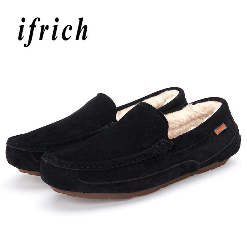24070feac Winter Man Casual Loafers Dark Blue Dark Brown Men Fur Loafers Comfortable  Mens Slip On Shoes Lightweight Driving Deck Shoes Mens Boat Shoes From  Lemmom